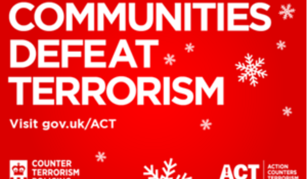 Christmas Counter.Police Professional 60 Second Security Plan In Christmas